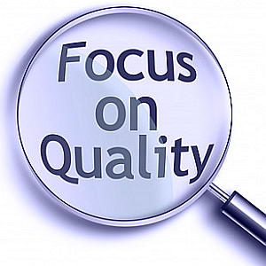Focus on project quality
