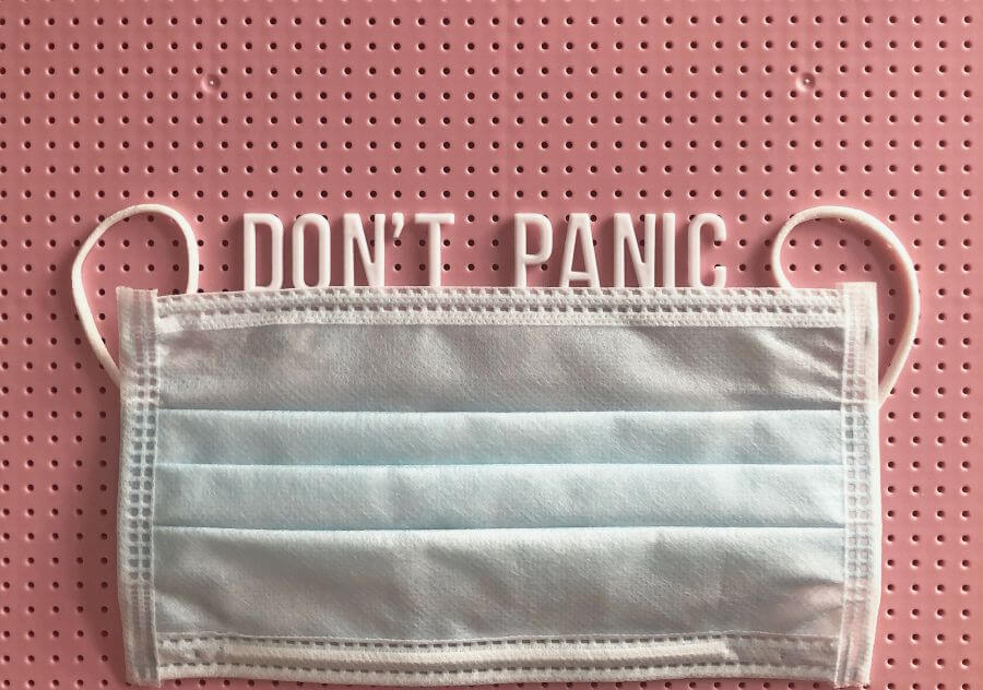 1. No panic; take a breath and look around