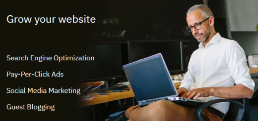 how to promote new business website
