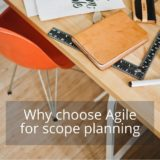 Agile project scope in software development