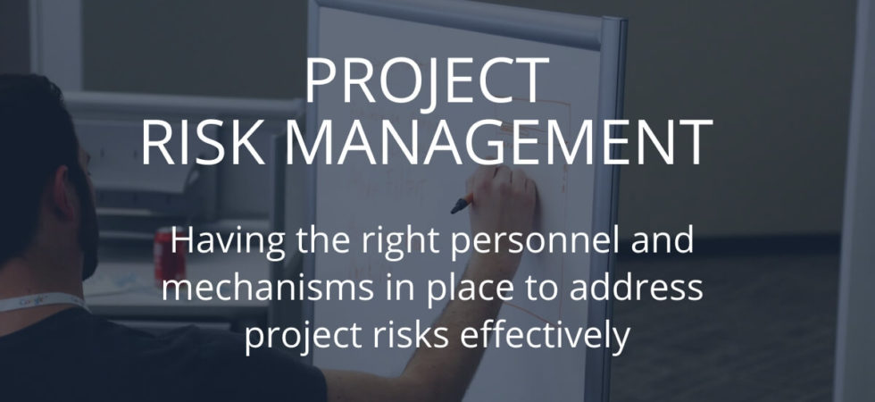 Using the Risk Management Process In Project Management