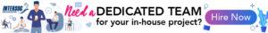 dedicated team banner - Intersog ad campaign